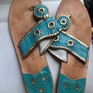 Jack Roger Teal Sandals